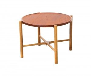 Hans J Wegner Reversible Folding Tray Top Coffee Table For