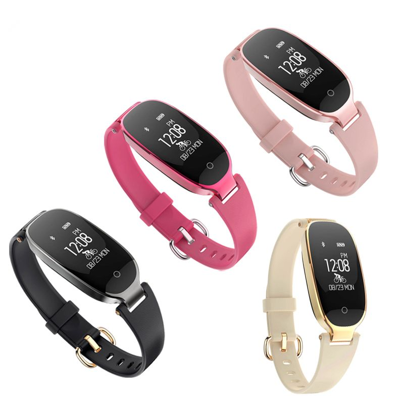 S3 0.96inch Heart Rate Monitor Pedometer Activity Tracker