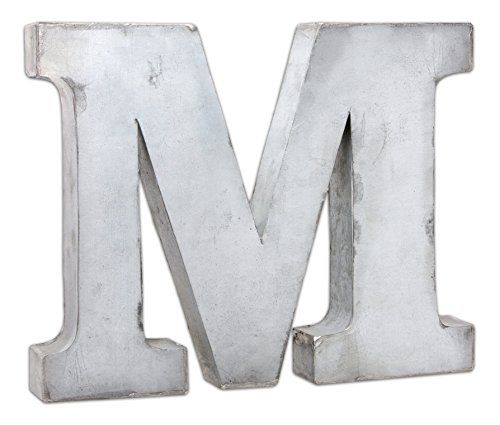 The Country House Collection Tin Letters M The Country Country House Fixer Upper Decor Letters