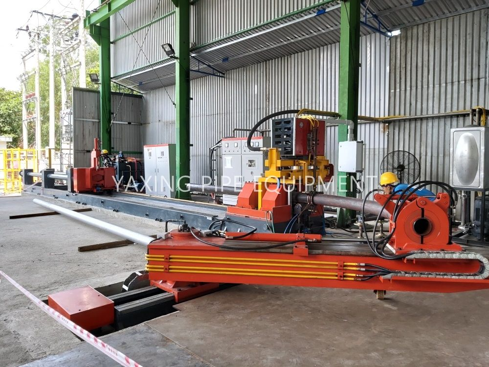 Pin on induction pipe bending machine
