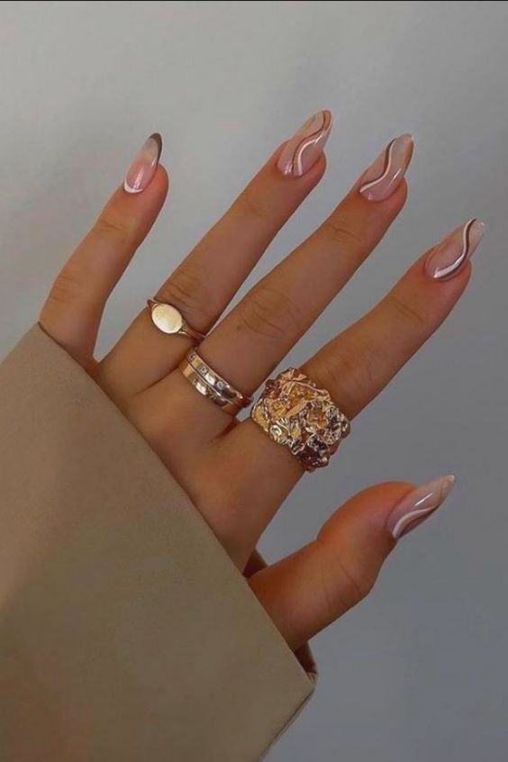 30+ Summer Swirl Nails You Need To Try