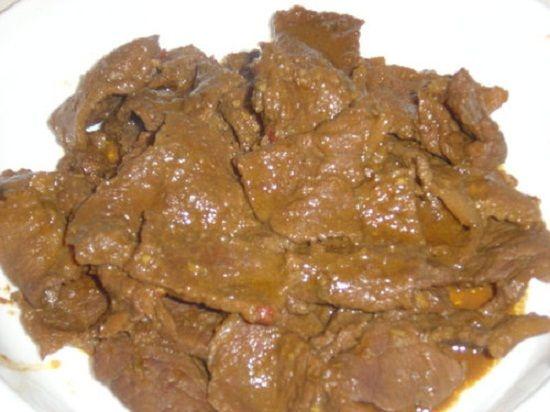 Terik Daging Jawa Memasak Daging Sapi Resep