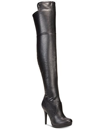 c9737fda448f Thalia Sodi Blairre Over-The-Knee Platform Boots