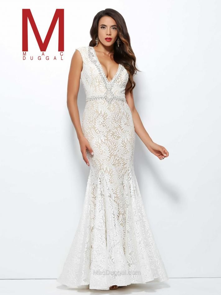 35b1841bbbb ... glamorous dress from the Black White Red collection. 61930R - Ivory
