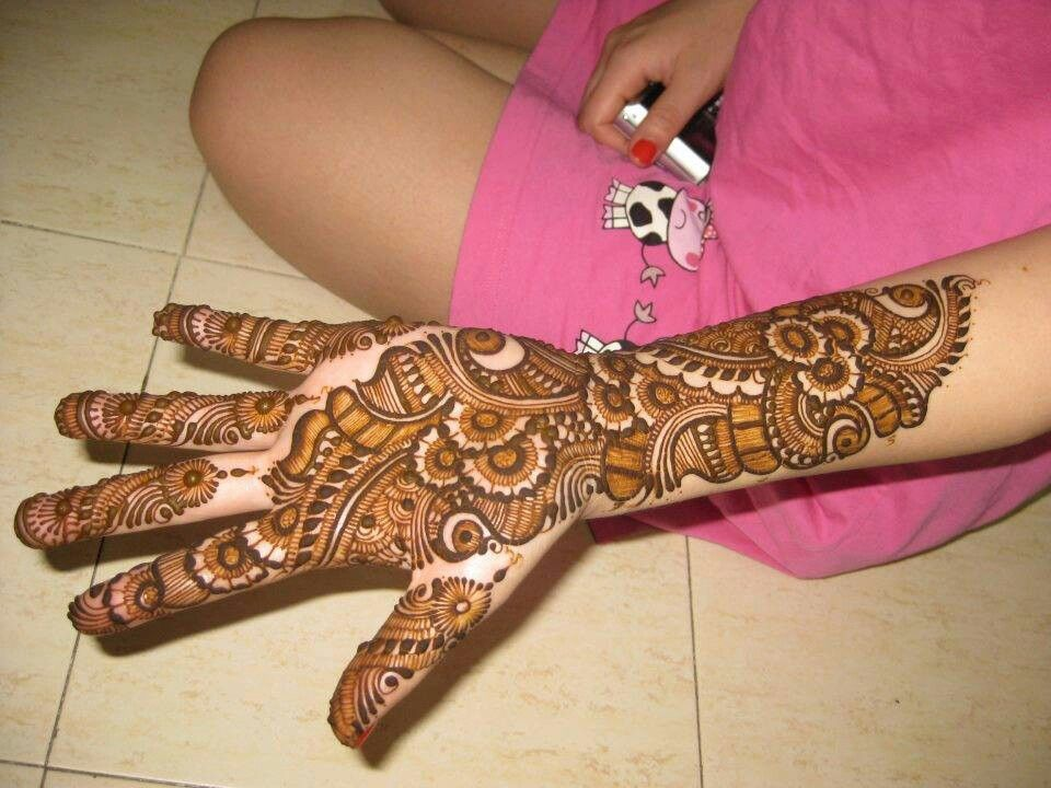 Henna Mehndi Latest Design : Design by znmd fashion is hennas mehndi and