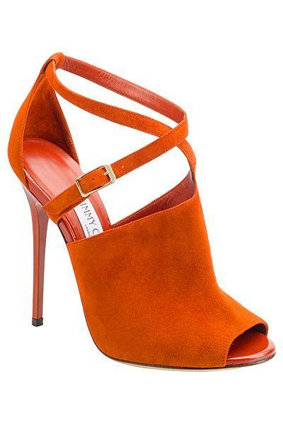 Chaussures Orange Jimmy Choo Pour Femmes qJwGGX