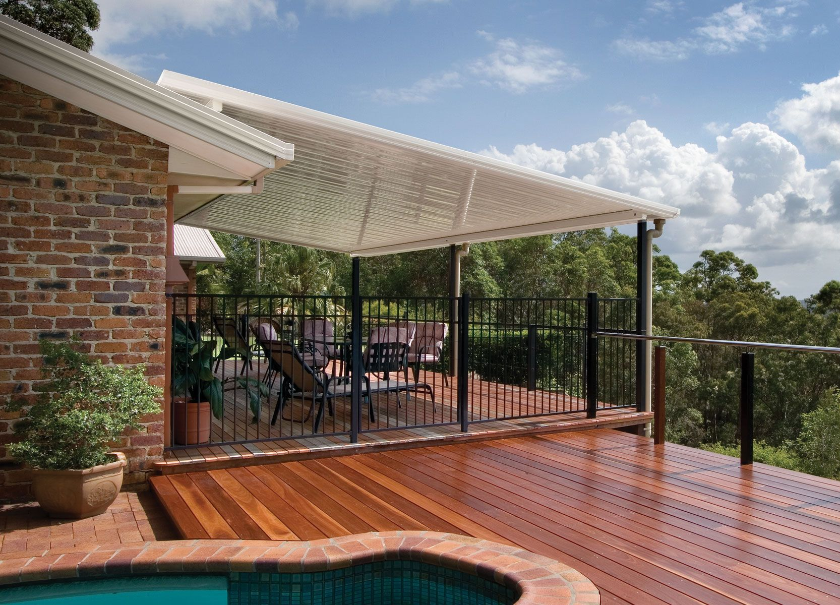 A Quality Flat Roof Patio Is An Easy And Inexpensive Way To Add Value To Your  Home. By Expanding Your Outdoor Living Space You Can Make Your Home Seem  Much ...
