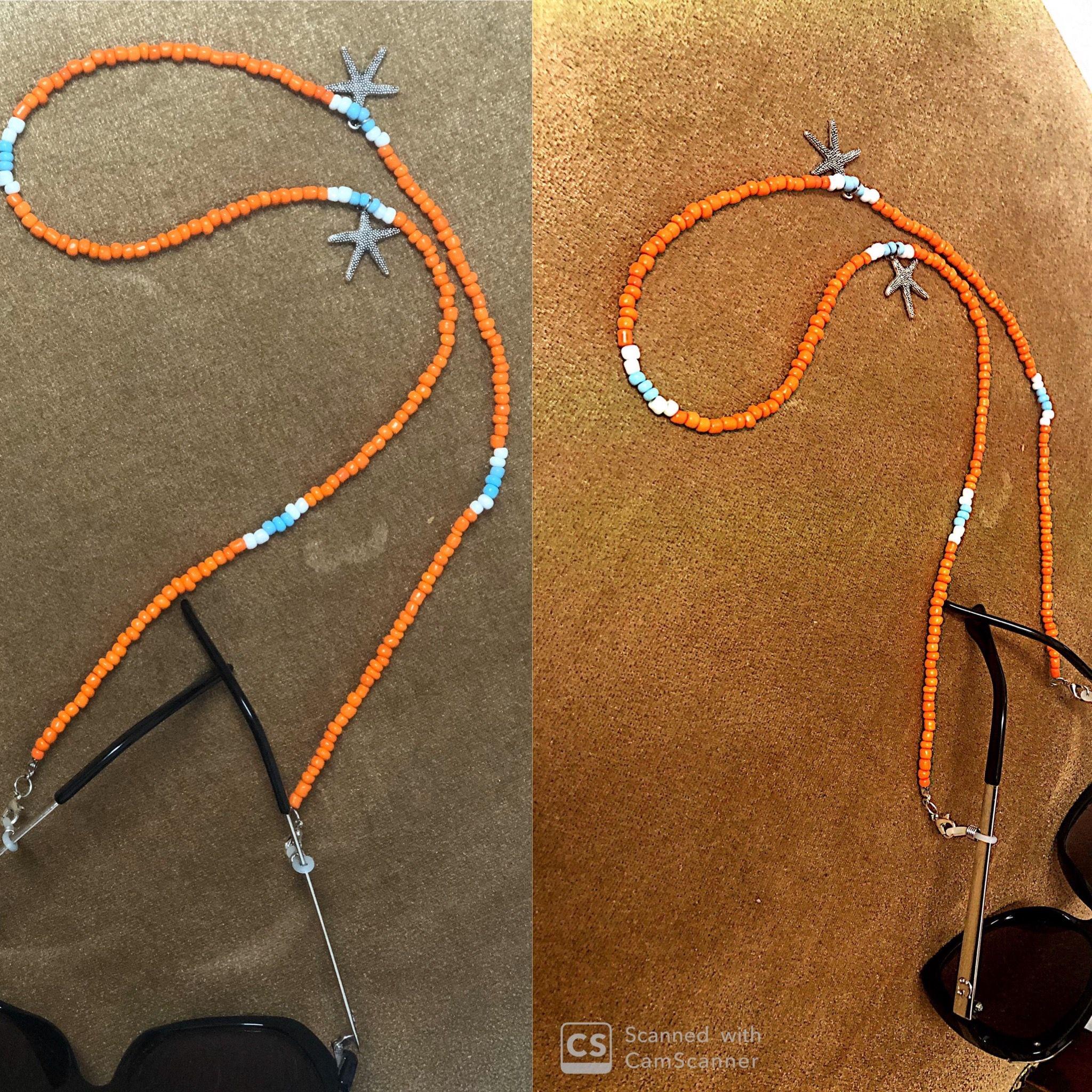 سلسلة نظارة هاند ميد Eyeglass Chain Chain Handmade