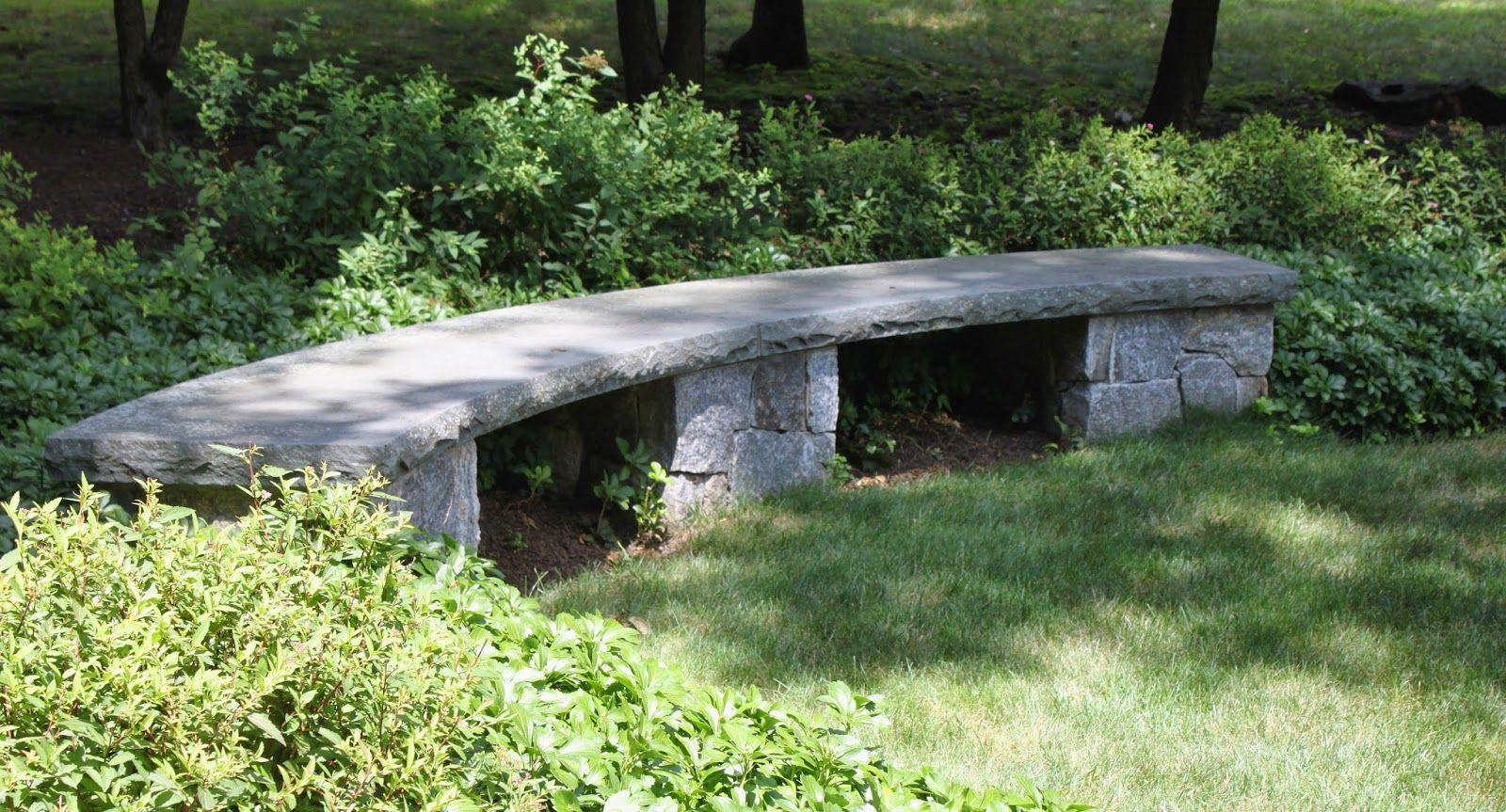 banc en pierres   jardin : bricolages   jardins, bancs et pierre