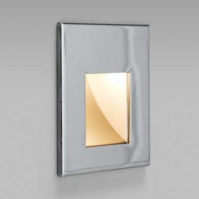 The oslo steplight is an energy efficient led square steplight and uplight that is suitable in an interior or marine application