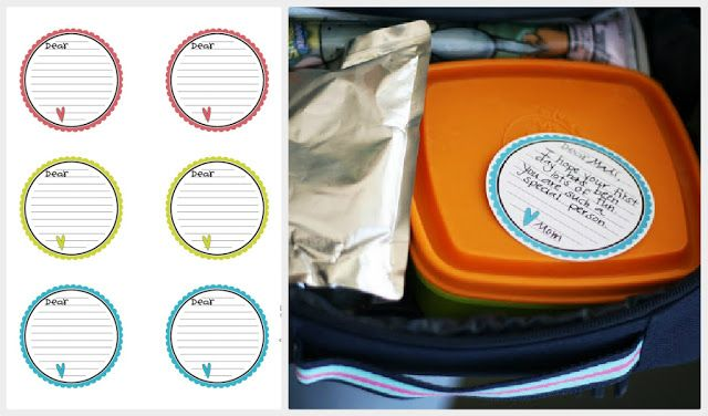 eighteen25: back to school--really cute lunch box notes. Very versatile-and fun.