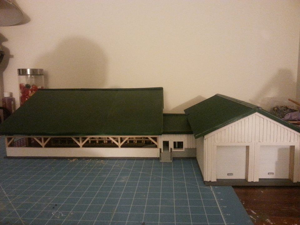 Free Stall Barn With Single 10 Parlor And 2 Bay Garage