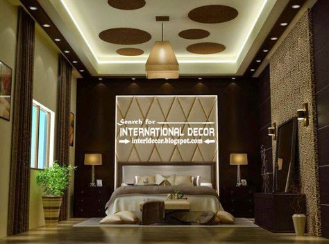 Modern Pop False Ceiling Designs For Luxury Bedroom 2015 Plaster Of Paris Ceiling  (841×625) | Wall Designs | Pinterest | Walls And House