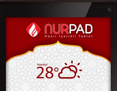 "Check out new work on my @Behance portfolio: ""NURPAD "" http://on.be.net/1U94XQf"