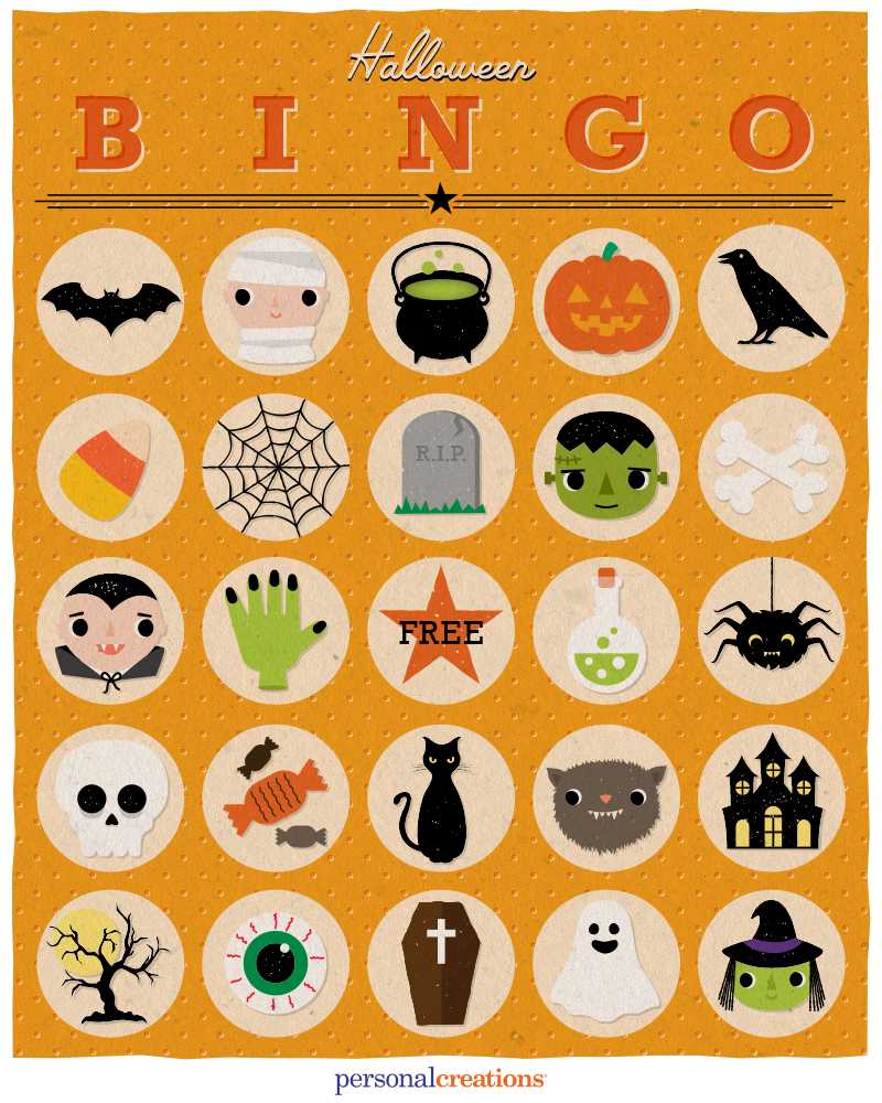 Free printable Halloween BINGO Game perfect for kids Halloween ...
