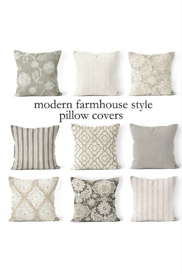 Cuscini Moderni Divano.Can Never Have Too Many Throw Pillows Love The Neutral Colors