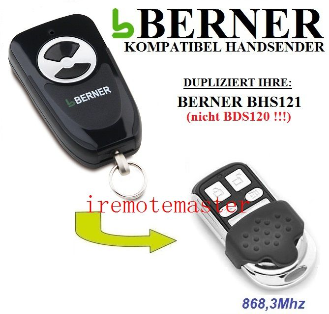 Best Sale Berner Bhs121 Transmitter Replacement Remote Control
