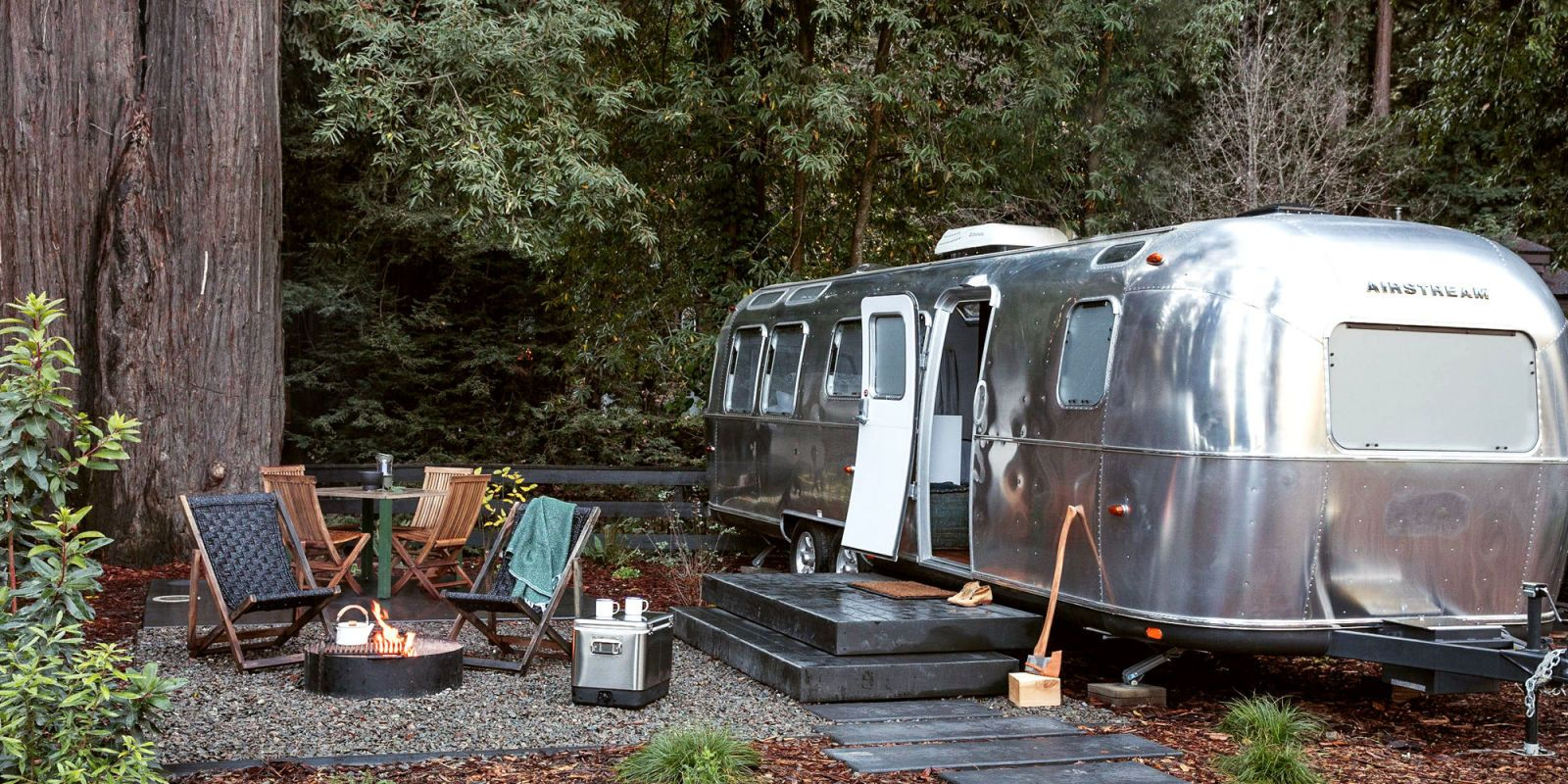 You Can Now Stay in Beautifully Designed Airstream Trailers on This California Campground  - CountryLiving.com