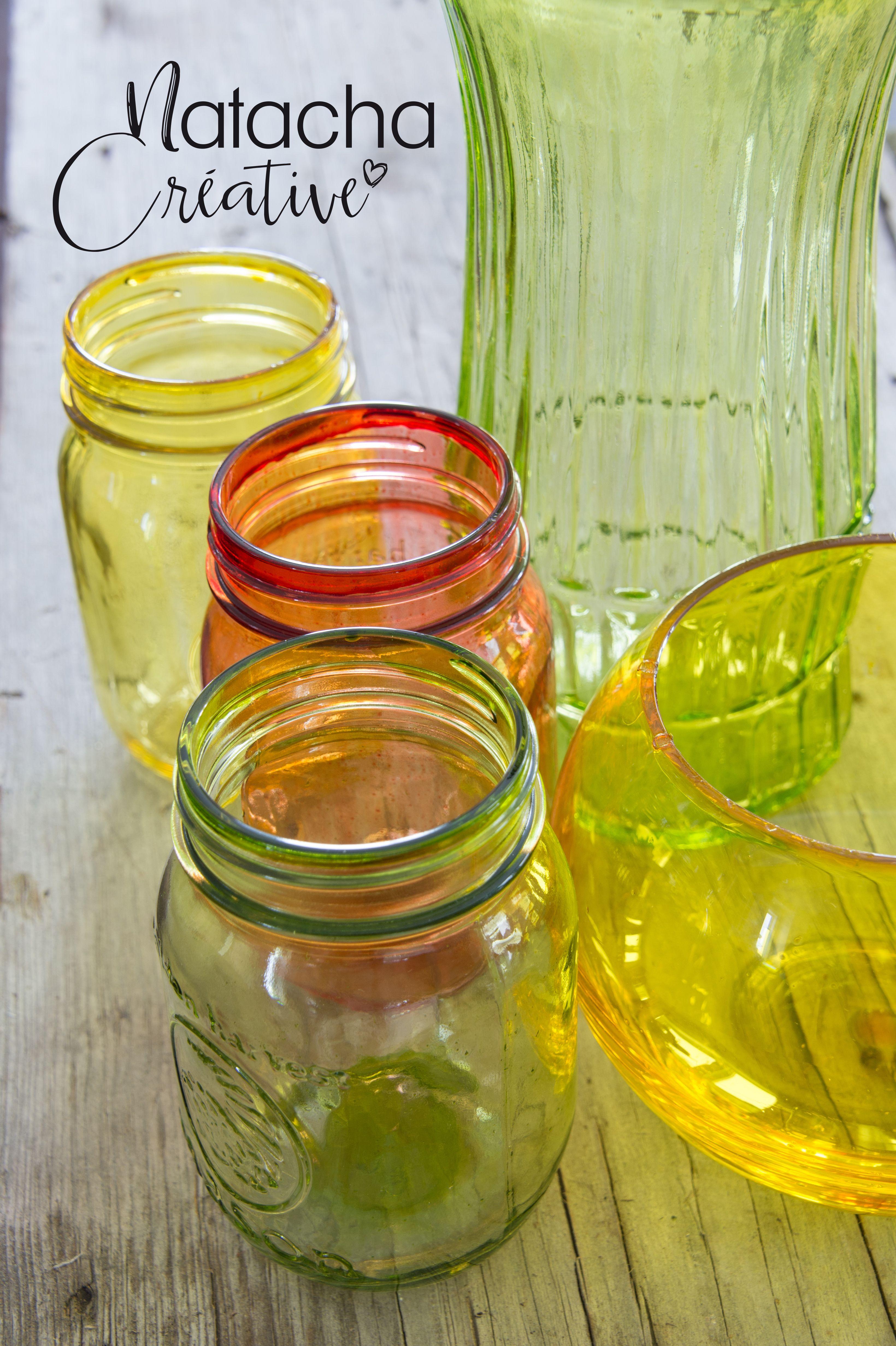 Peindre Du Verre Mason Jars Diy And Crafts Jar
