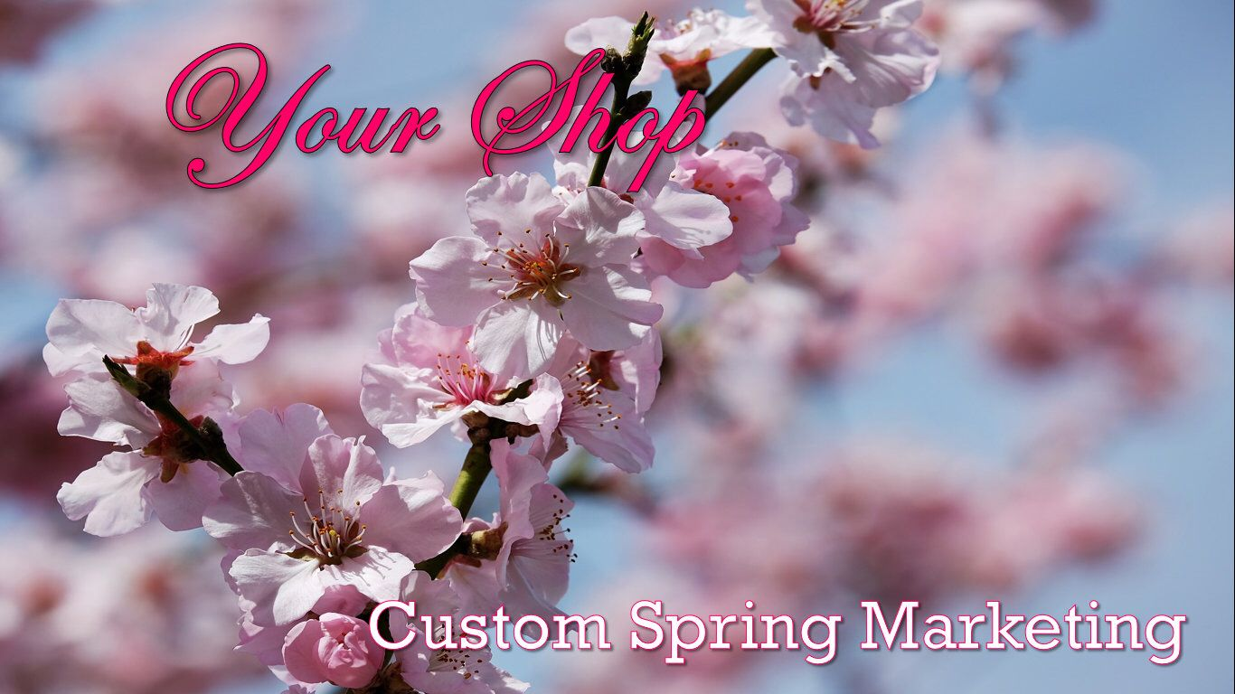 Spring Marketing Package Video Video Facebook Video Etsy Video Marketing Social Media Analysis Diy Marketing