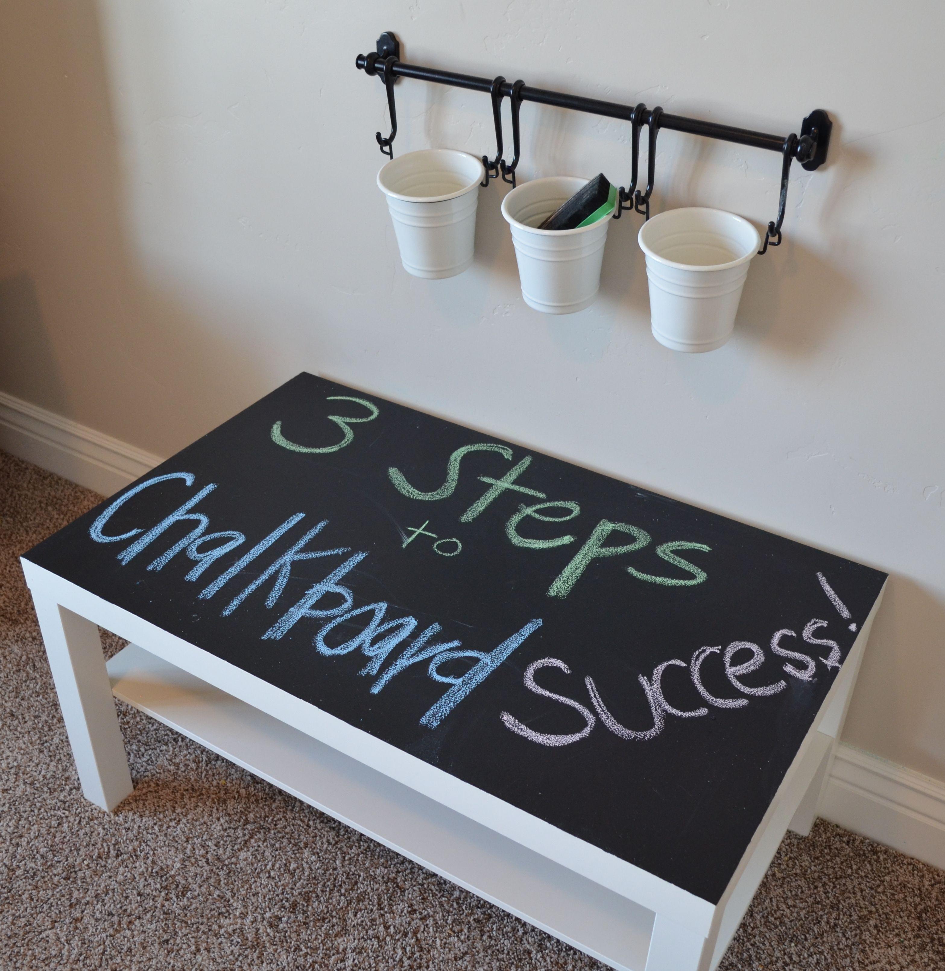 3 Tips To Chalkboard Success Kids Chalkboard Chalkboard Table