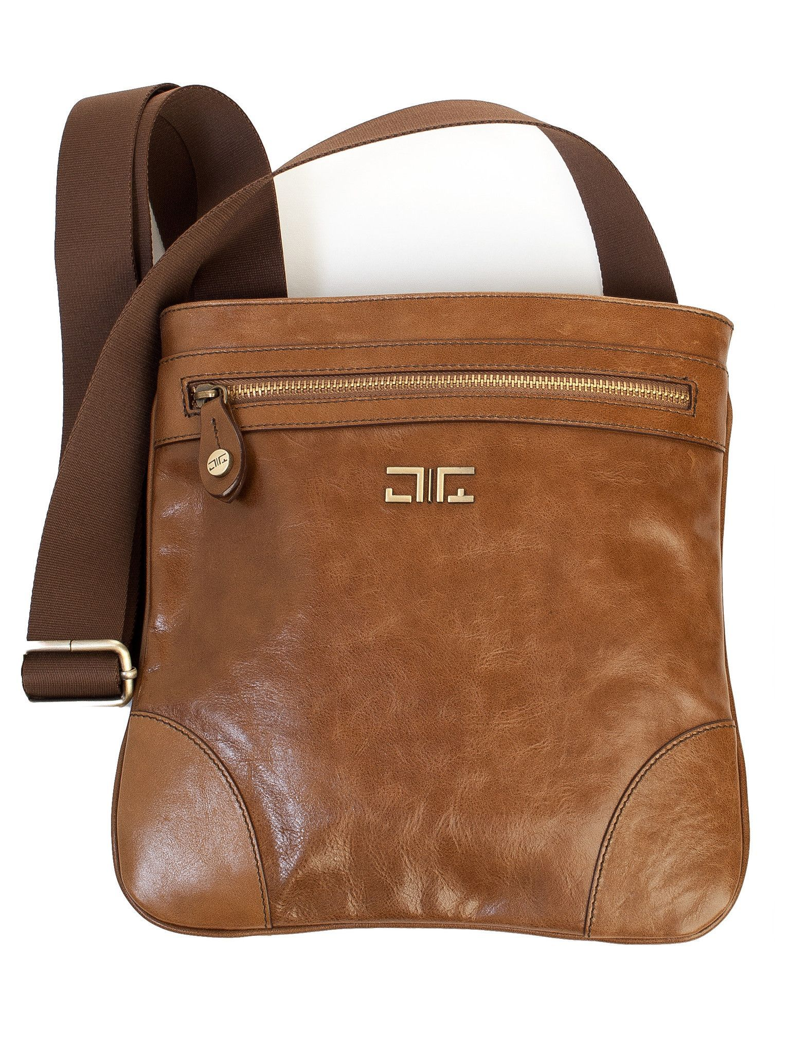 fdfbfc43df15 Hermes-Small Messenger Flight Bag-Saddle. 100% Made in Italy from vegetable  dyed leather