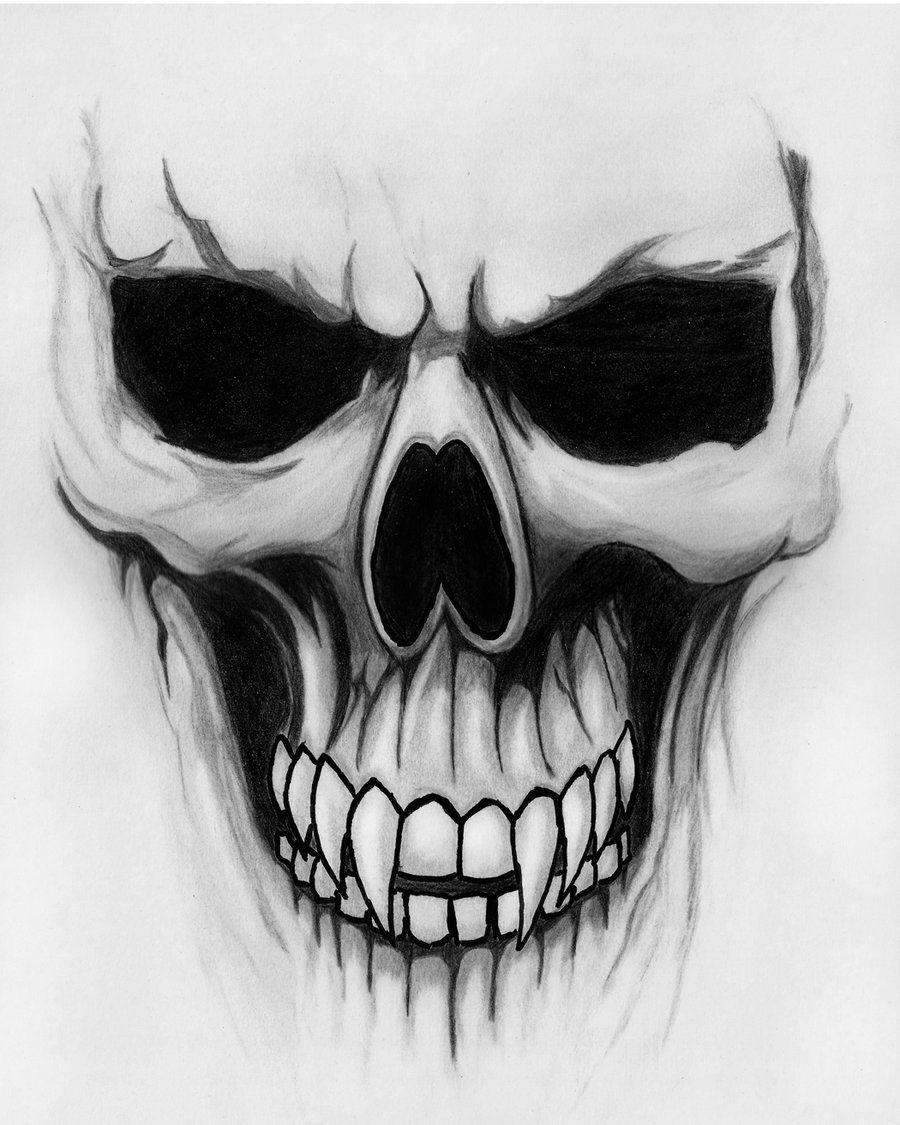 Крутые картинки для срисовки черепа, дому прикольные картинки