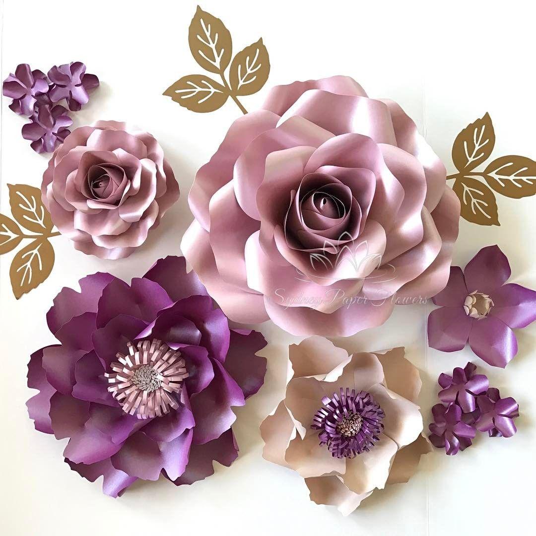 Pin By Decor Studio La Fleur On Paper Flowers For Interior