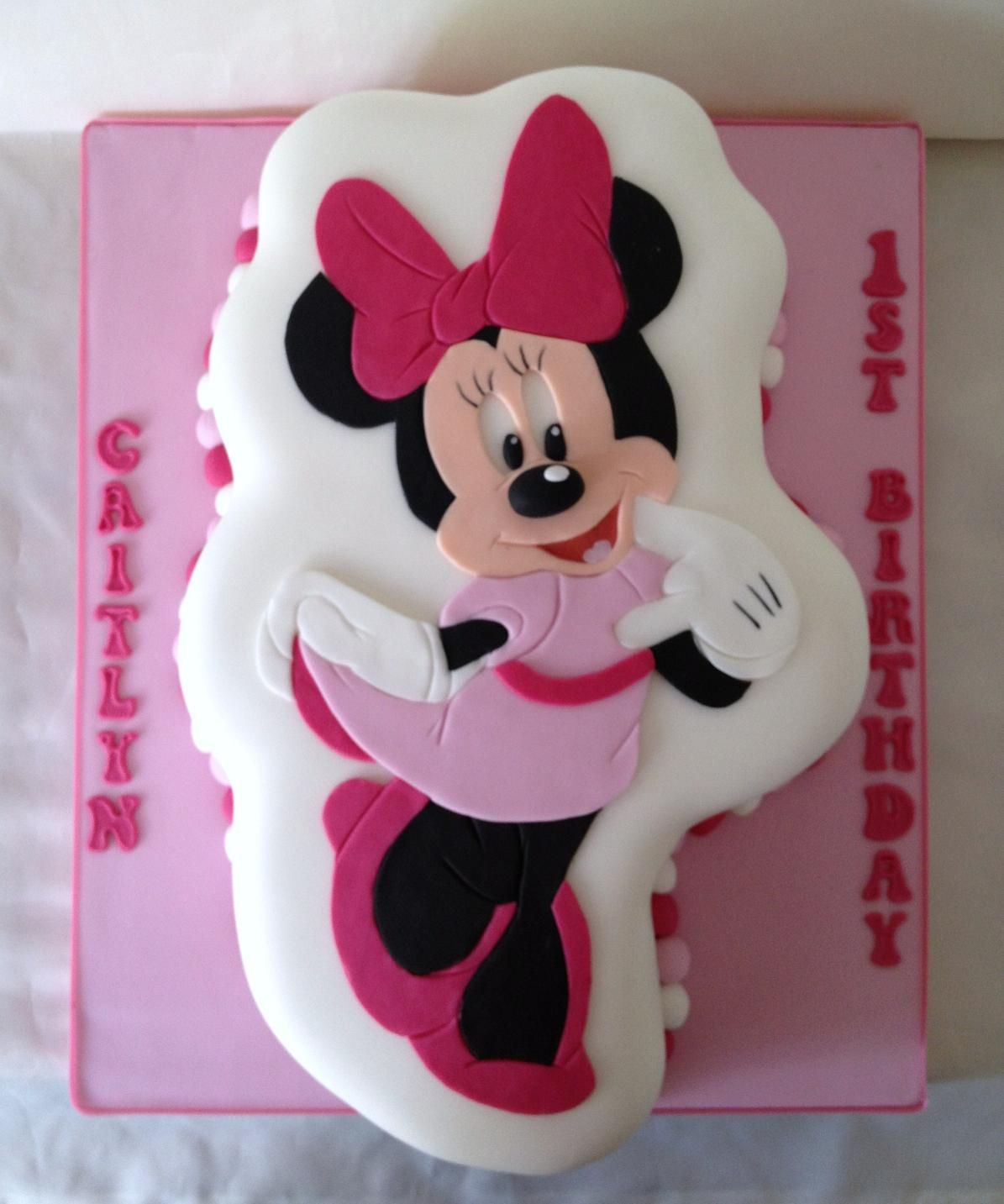 Minnie Maus Küche Minnie Maus Kuchen