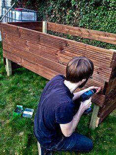 DIY: Ein eigenes Hochbeet bauen   Wohnluft.de