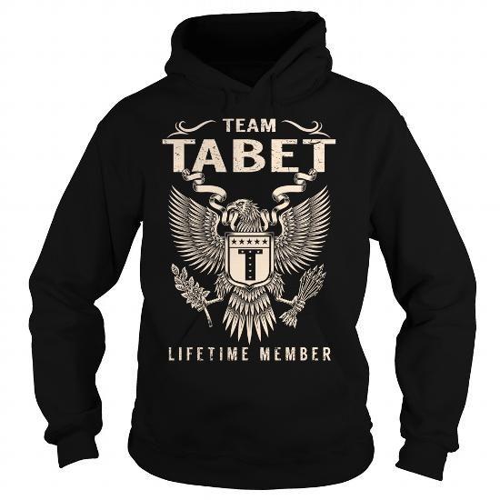 I Love Team TABET Lifetime Member - Last Name, Surname T-Shirt Shirts & Tees