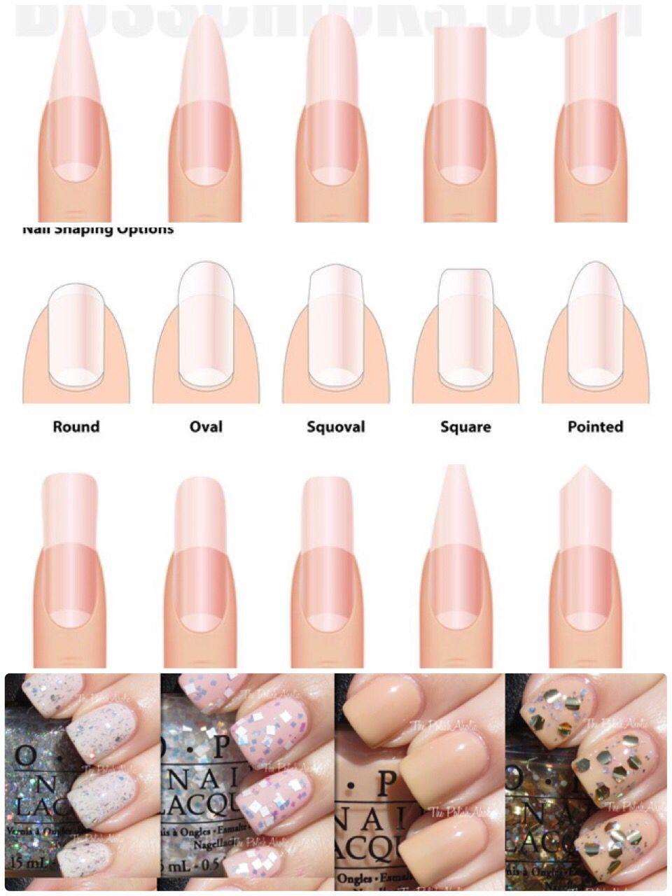 اختاري شكل أظافرك بما يتناسب مع شخصيتك من أشكال الاظافر الطويلة والقصيرة والتي تختارينها حسب طل تك Opi Alessandro In Manicure And Pedicure Pedicure Manicure