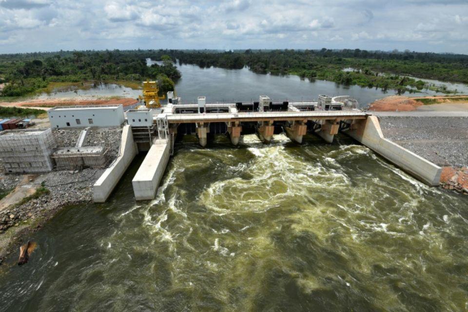 20170701 Cote D Ivoire Mise En Service Du Barrage Hydroelectrique De Soubre Hydropower Dams Hydroelectric Dam Dam