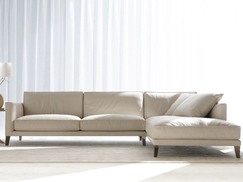 Divani In Pelle Con Chaise Longue.Download The Catalogue And Request Prices Of Time Break Leather