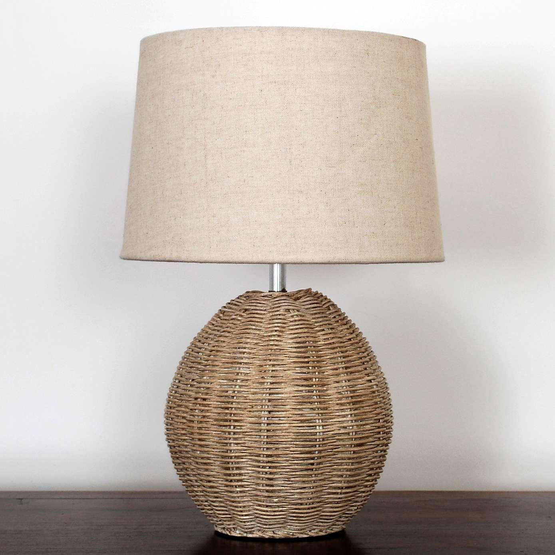 Ali Rattan Table Lamp