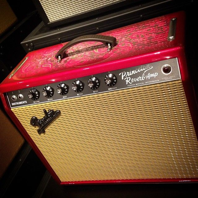 Limited Edition '65 Princeton Reverb Pink Paisley