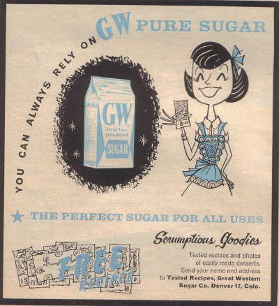 GW Sugar (1960) | Illustrator: Unknown