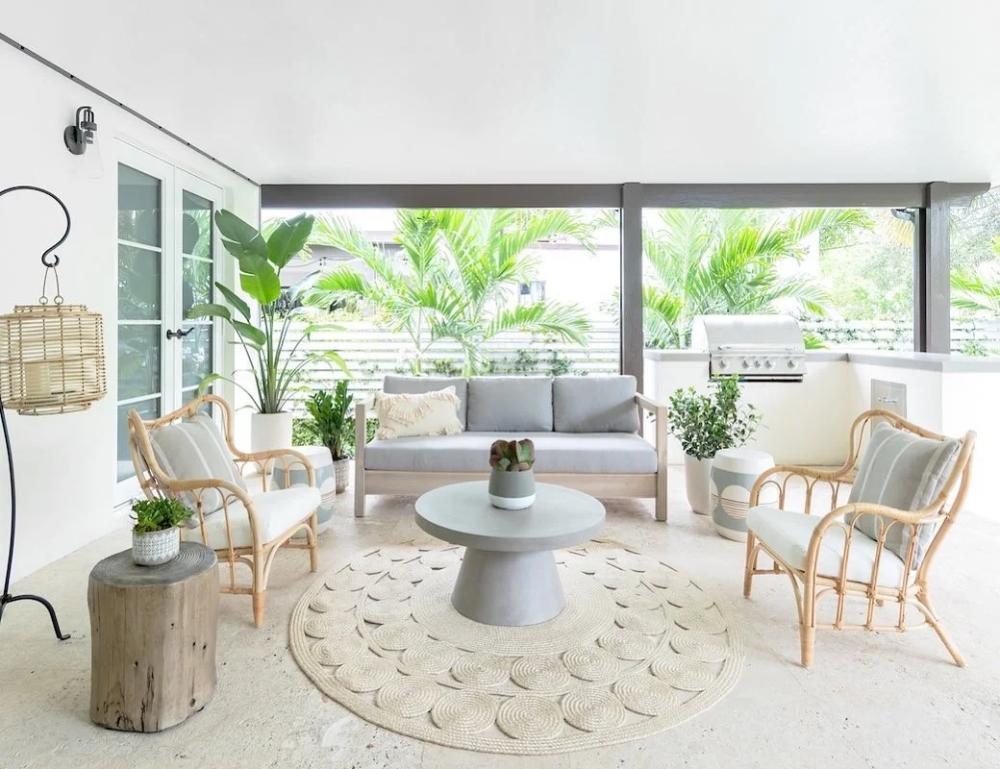 Arca Driftwood Gray Sofa In 2020 Miami Interior Design Interior Design Outdoor Furniture Sets