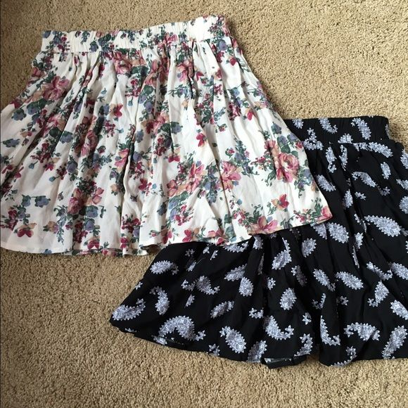 Brandy Melville skirts!!✨ Bundled brandy Melville circle skirts in perfect condition! Brandy Melville Skirts Circle & Skater