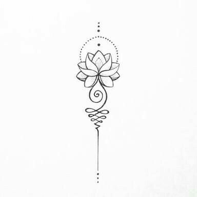 Tattoo Flor Loto Estiu 2017 Tatuaje En La Espalda Tatuajes