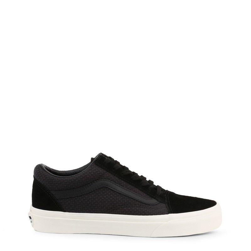 Vans Old Skool Vn0a38g1vk01 Unisex Black Sneakers Size Us Vans Old Skool Black Sneakers Old Skool Black