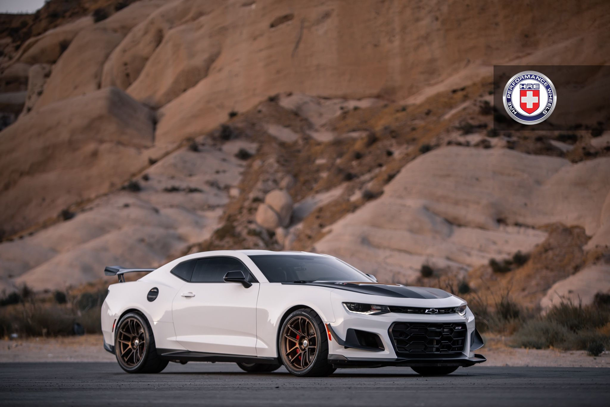 Chevrolet Camaro Zl1 With Hre Rc104 In Satin Bronze Chevy Camaro