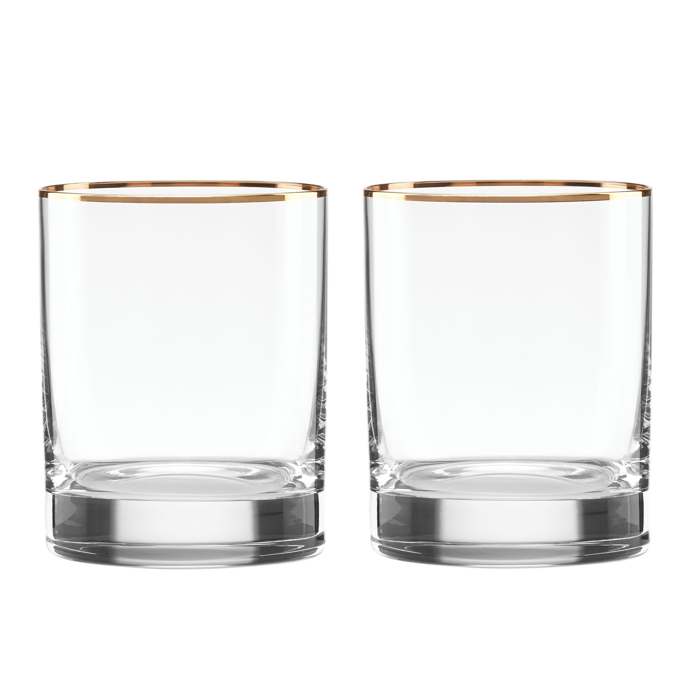 Lenox Timeless Gold Double-Walled Old-fashion Glass (1 glass ...