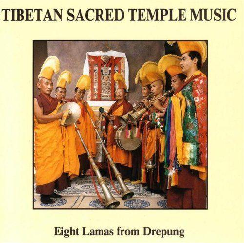 Tibetan Sacred Temple Music: Eight Lamas from Drepung (Shining Star, 1990)