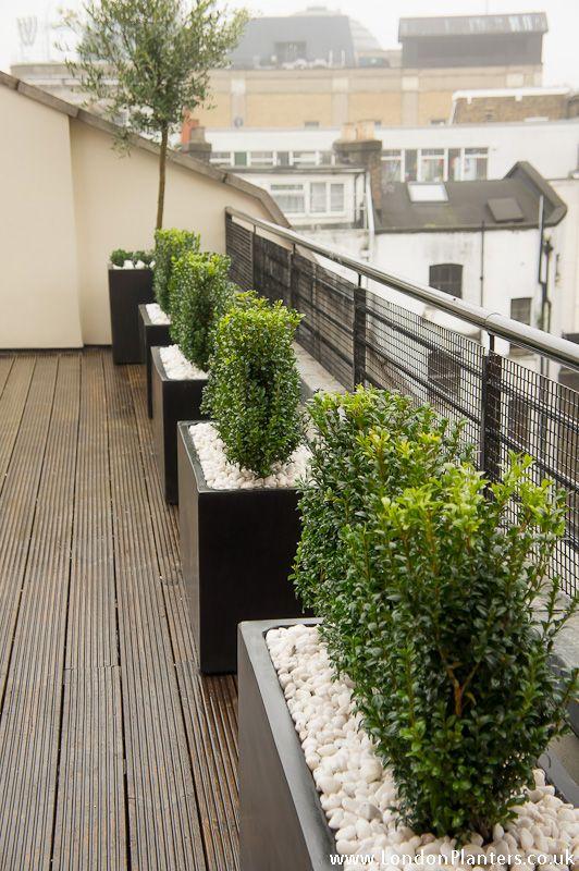 Balcony Design London: Roof Terrace Design London