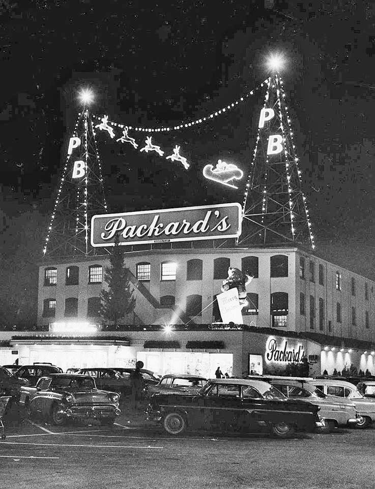 Packards hackensack nj christmas pictures vintage