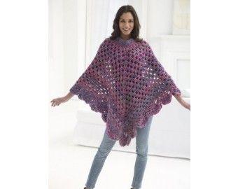 Crochet Kit – Boho Poncho