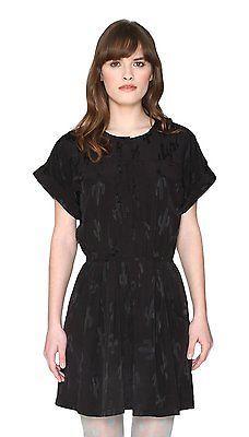 Loves Women's 10NoirblackPepa Dress NewUk Valentina hQrsdt