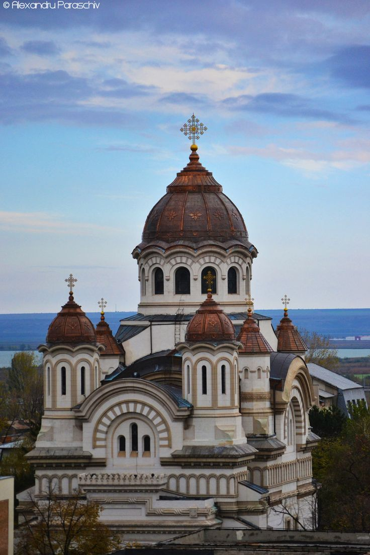 Romania Travel Inspiration - St. Nicholas Cathedral -  Galati,Romania