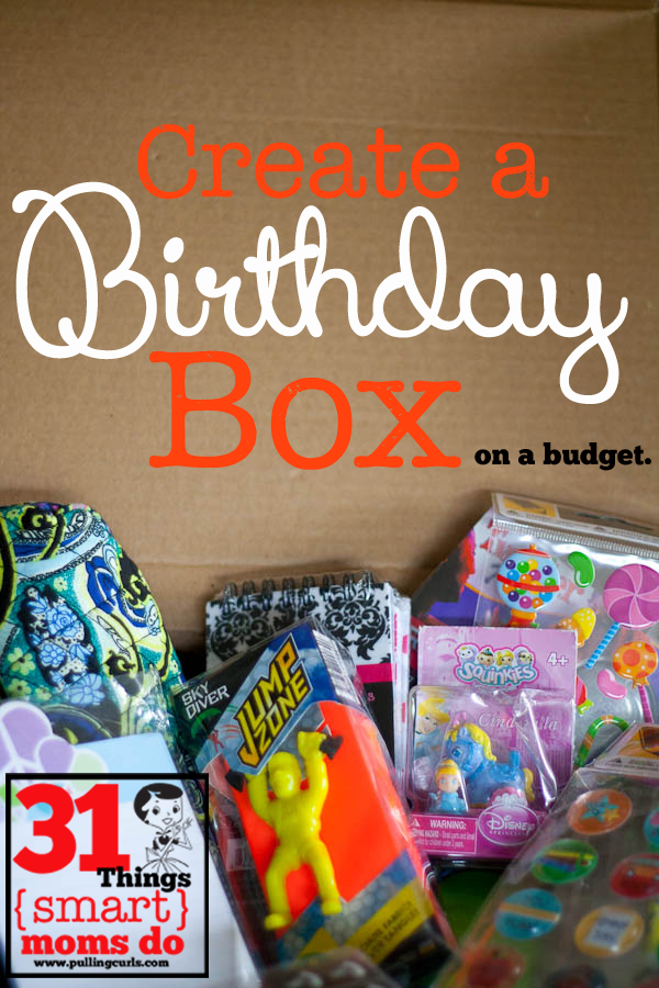 Create A Birthday Bin To Prevent Last Minute Painful And Often Expensive Trips The Store For Presents Pullingcurls